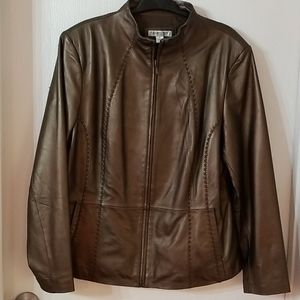 Coldwater Creek Leather Jacket